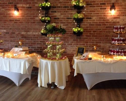 Wurlitzer Room Dessert Tables