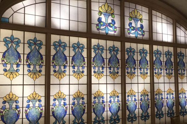 The Recital Room Stained Glass