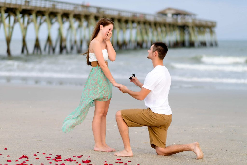 Taking a Knee for a Proposal